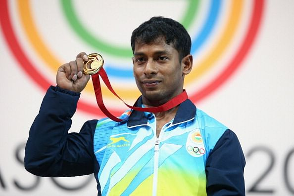 More weightlifting medals for India at CWG 2014: Sukhen Dey wins gold, Ganesh Mali bronze