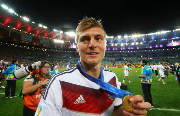 Toni Kroos tops FIFA Castrol Player Index for 2014 World Cup