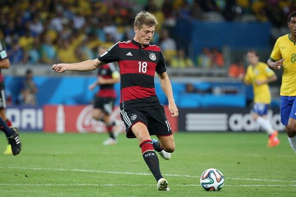 Bayern Munich midfielder Toni Kroos joins Real Madrid