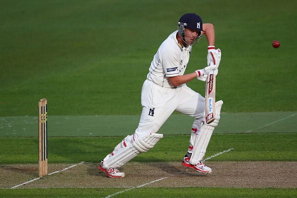 Jonathan Trott scores his first hundred after taking a break from cricket