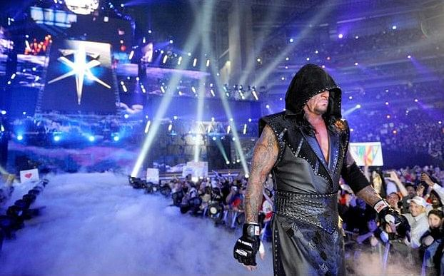 Undertaker was not supposed to lose but got knocked out ...