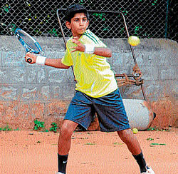 M.P. Prakash Memorial AITA Championship: Vasisht Cheruku to face Mayukh in the finals