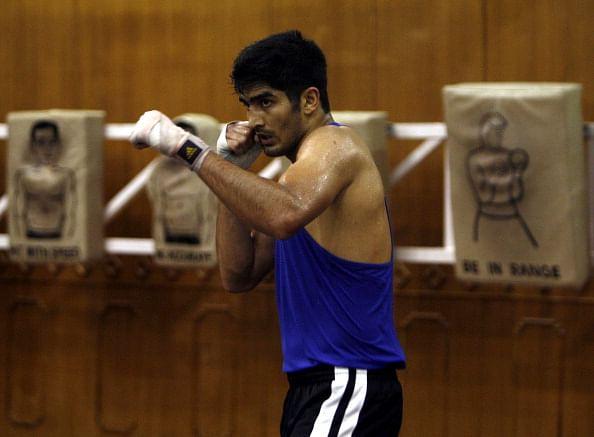 Devendro, Vijender among three Indian boxers in CWG 2014 semis