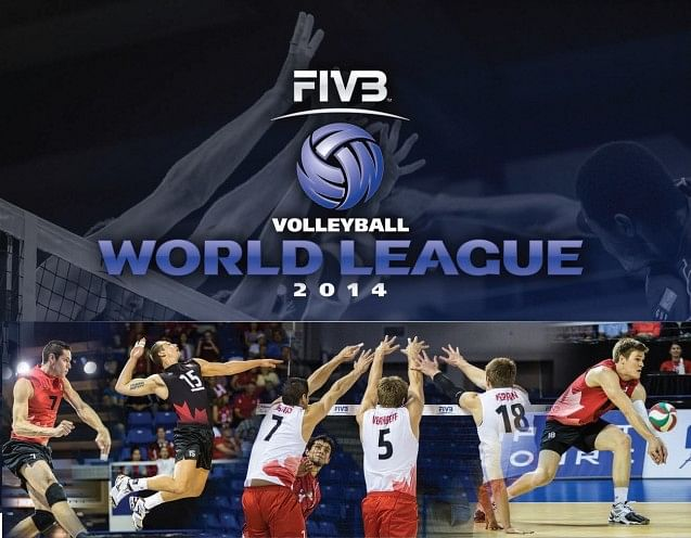 2014 FIVB Volleyball World League - The battle of the top six
