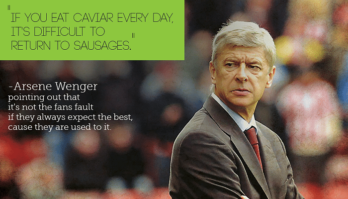 10 Most iconic quotes on Arsenal which symbolize their class