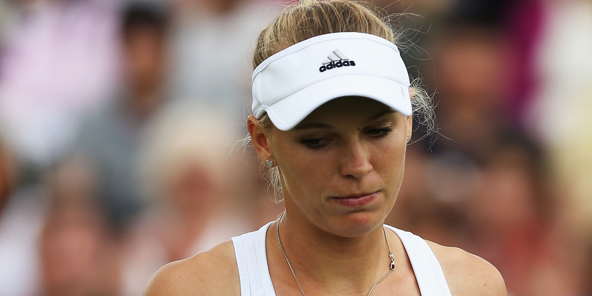 Caroline Wozniacki joins Roger Federer in the on-court clock bandwagon