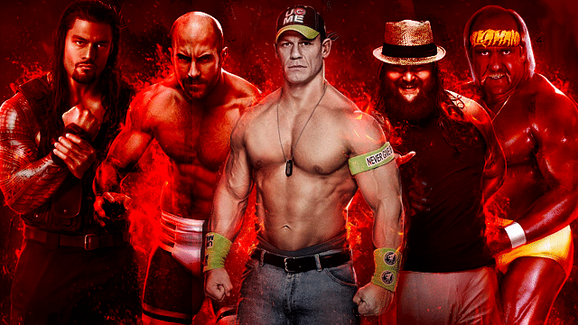 WWE 2K15 roster gets bigger and better