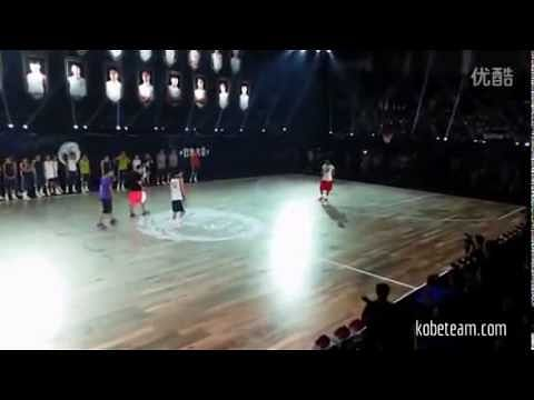 2014 'Nike Rise' campaign: Kobe Bryant dazzles fans in China with his incredible play
