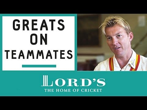 Video: Brett Lee, Shivnarine Chanderpaul and Shaun Tait pick the best players they have played with