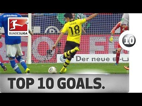Video: Top 10 Bundesliga goals in 2013/14