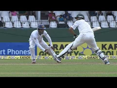 Video: Great teamwork from Kaushal Silva and Niroshan Dickwella to pull off catch