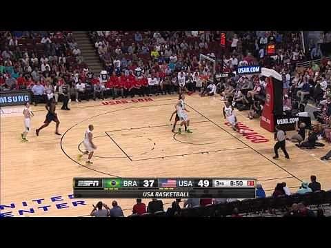 Video: Recap of FIBA exhibition game between USA and Brazil