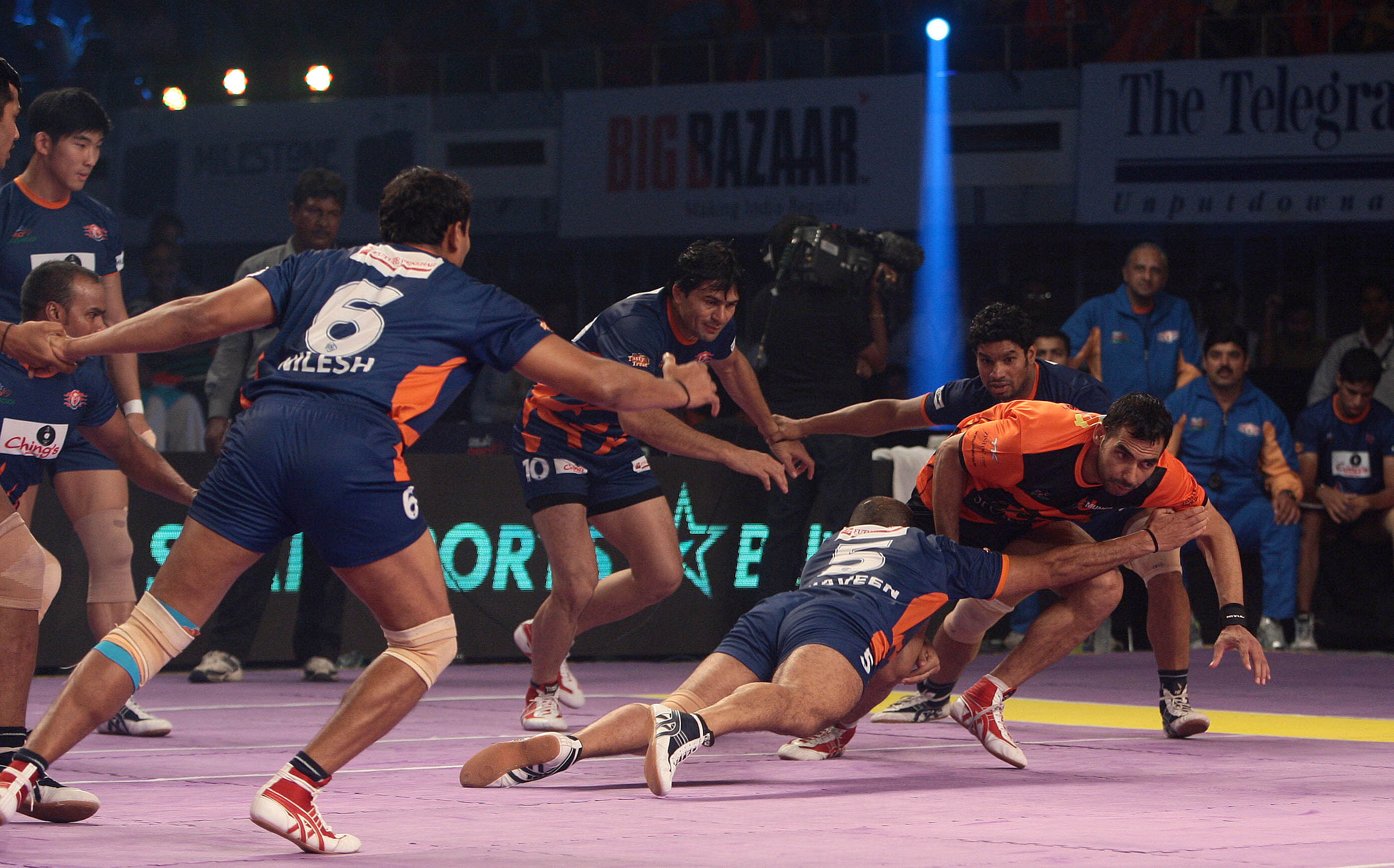 Kabaddi is the 4th most watched sport in India