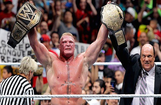 Brock Lesnar challenges John Cena for a rematch, says he is not carrying two titles