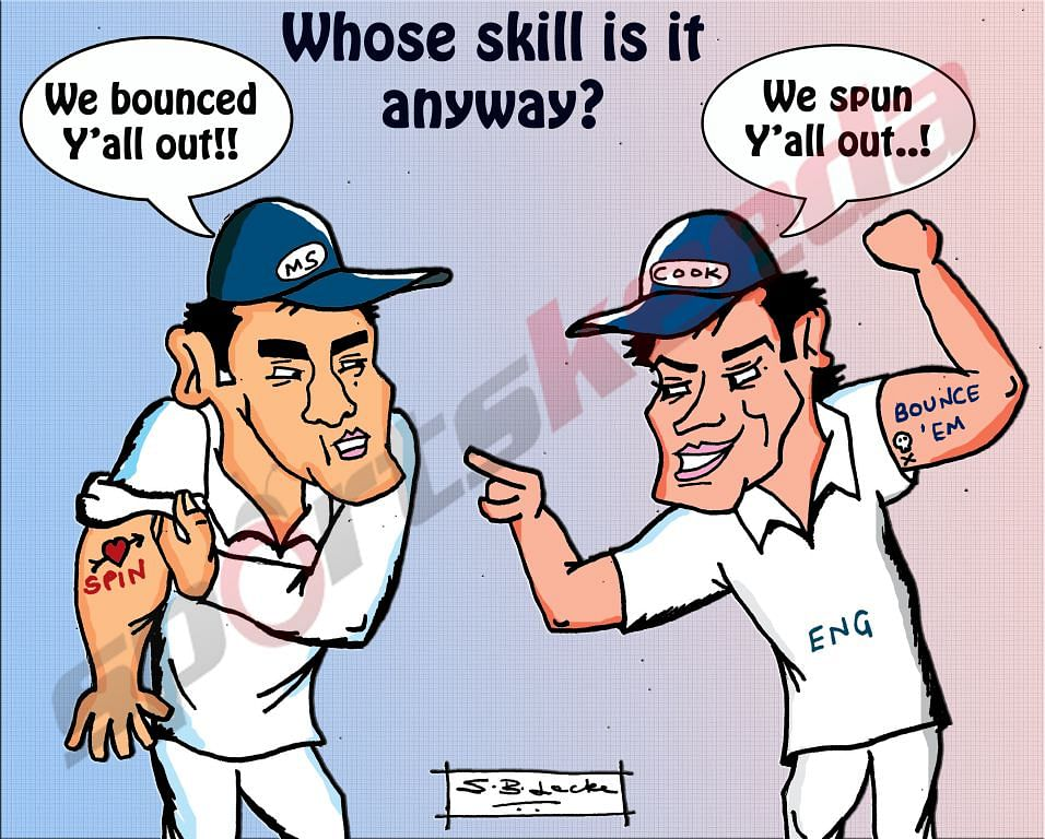 Comic: England vs India - Whose strength is it anyway?
