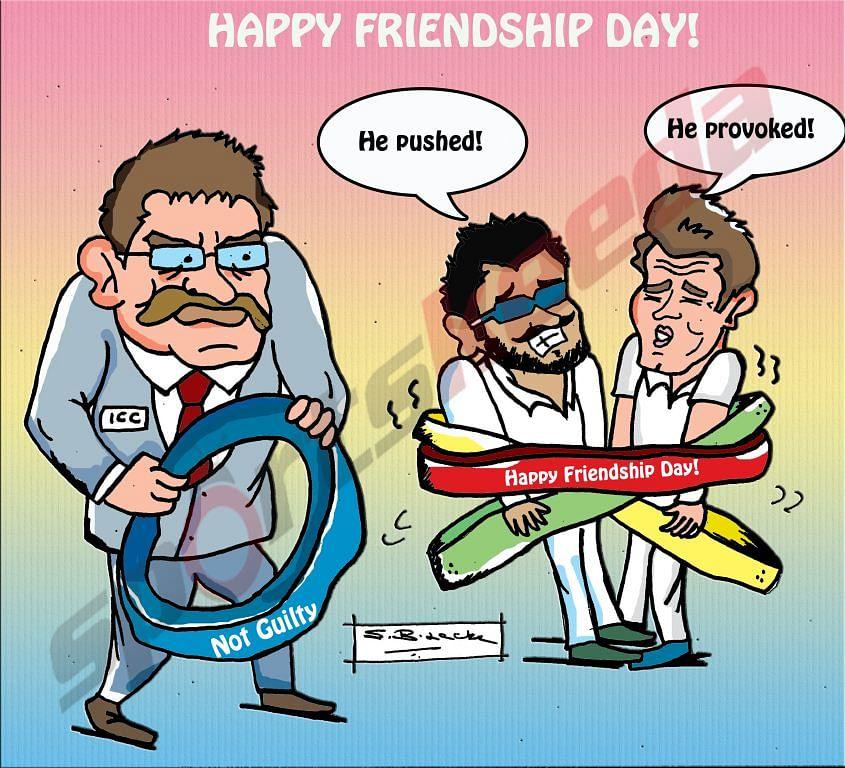 Comic: England v India - Happy Friendship Day