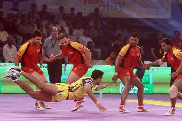 Pro Kabaddi League: Bengaluru Bulls hold Telugu Titans to a draw