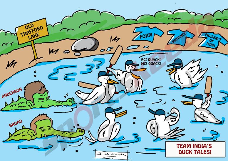 Comic: Team India's duck tales - BC Quack, MC Quack
