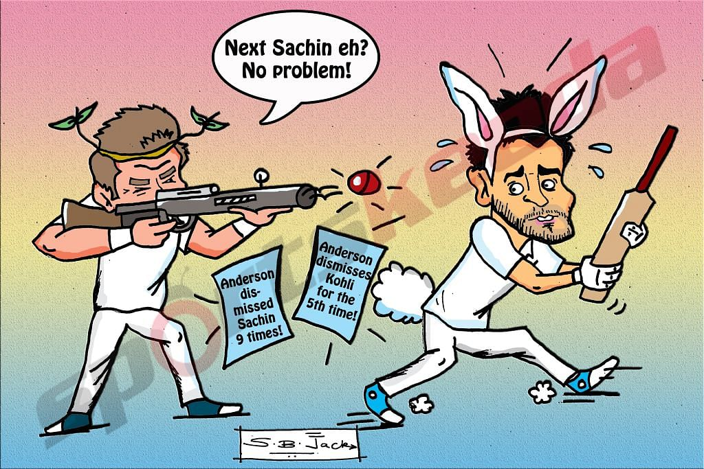 Is Virat Kohli the next Sachin Tendulkar? James Anderson approves!