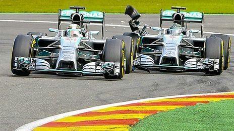 Hamilton: Rosberg deliberately ran into me to 'prove a point'