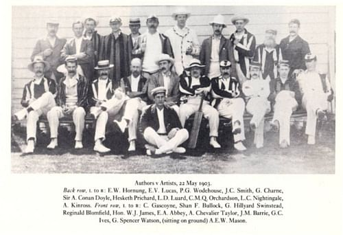 Sherlock Holmes and the cricket connection