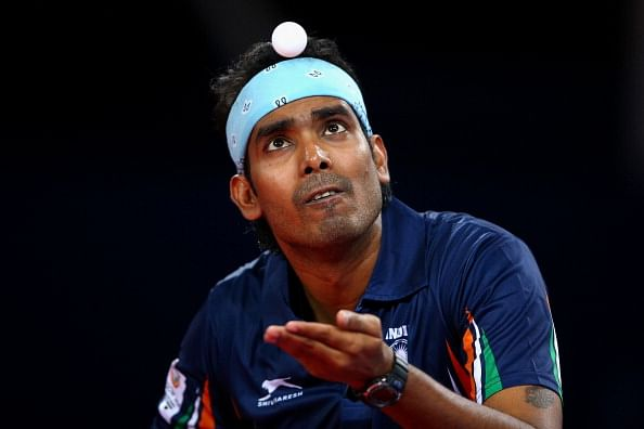 CWG 2014: Sharath Kamal, Anthony Amalraj keep the Indian flag flying in table tennis