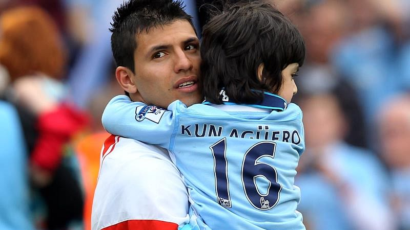 Like father, like son: Benjamin Aguero has all the talent to become Argentina's next big football star