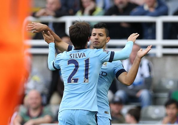 Highlights: Manchester City beat Newcastle 2-0 to top Premier League table