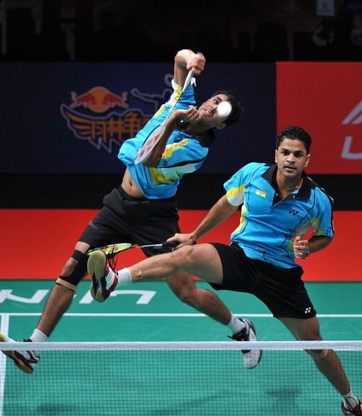 2014 Badminton World Championships: Akshay Dewalkar and Pranav Chopra advance to second round in men's doubles