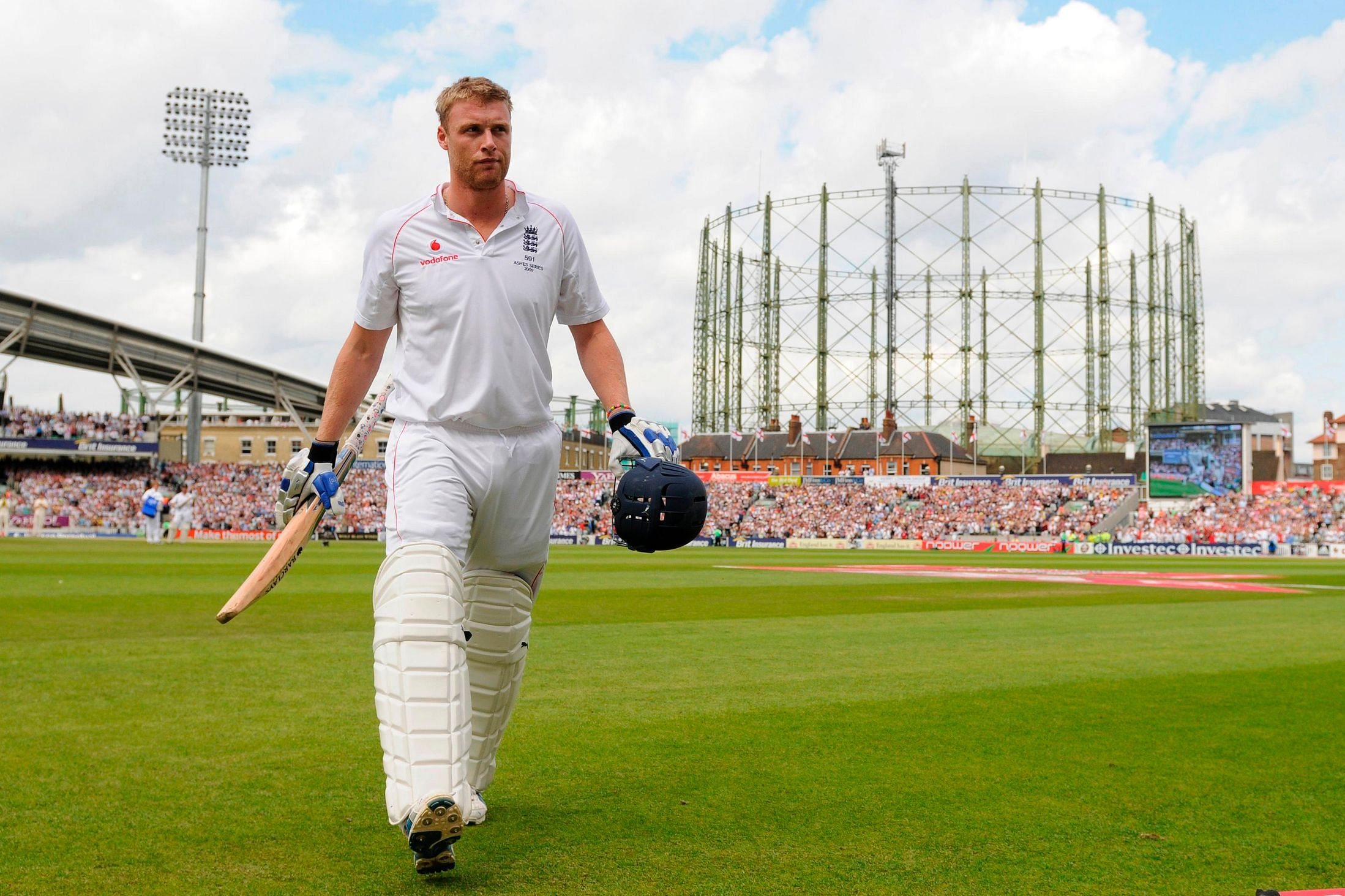 Andrew Flintoff's debut in International Cricket