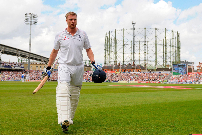 Andrew Flintoff's debut in International Cricket