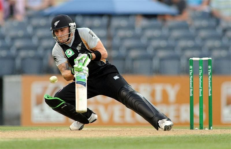 Brendon McCullums debut in International Cricket