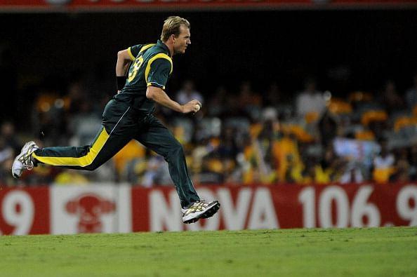 Brett Lee's debut in International Cricket