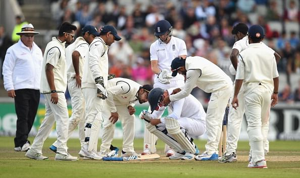 Was Stuart Broad's helmet responsible for his nasty injury?