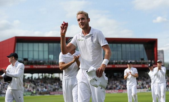 England v India 2014: Stuart Broad's 6-for bowls out visitors for 152; India equal world record for most ducks