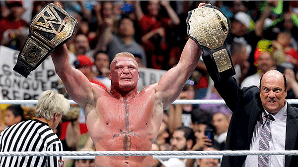 Who should WWE World Champion Brock Lesnar eventually lose to?
