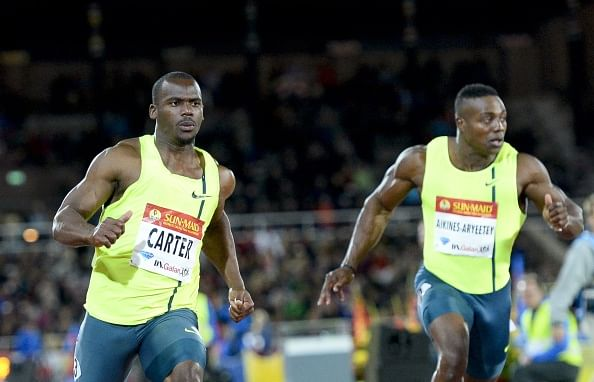 Diamond League wins for veterans Carter and Williams