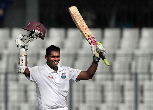 Shivnarine Chanderpaul's debut in International Cricket