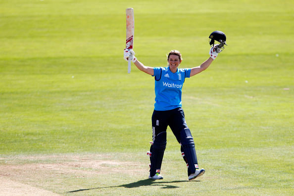 India women go down to England by 13 runs after brilliant Charlotte Edwards ton