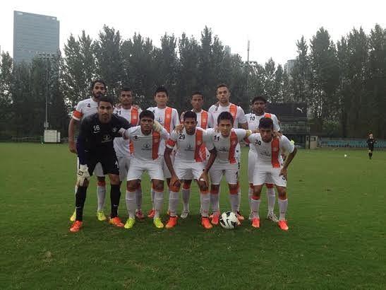 India trounce Chinese Super League side Jiangsu Sainty