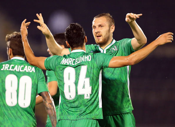 Defender saves two penalties in shootout to lead Ludogorets into Champions League for the first time