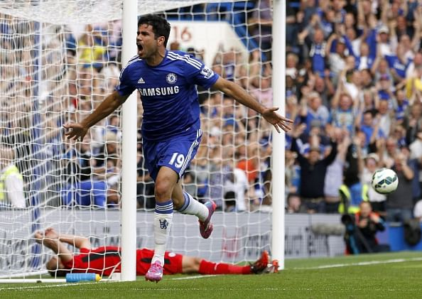 Reports: Diego Costa could be out for upto 6 weeks with a hamstring injury