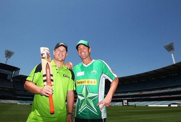 GIF: David Warner's bowling action mirrors that of Australian legend Shane Warne