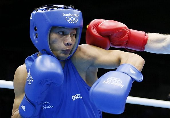 State mates Devendro, Sarita in boxing finals at Glasgow CWG