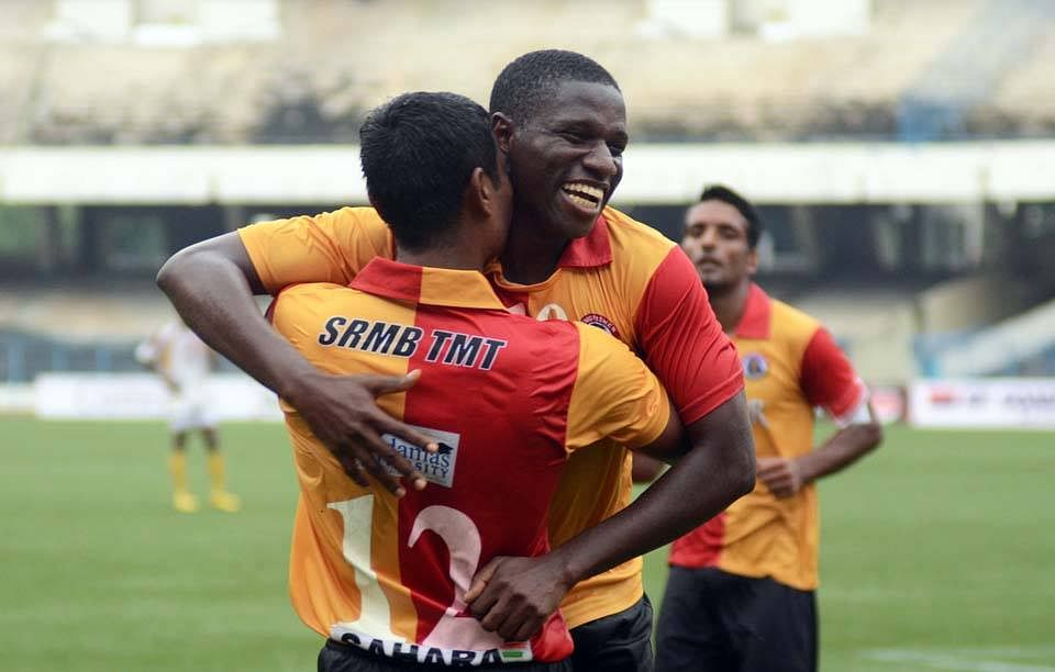 Ranti brace sees East Bengal win 150th CFL derby