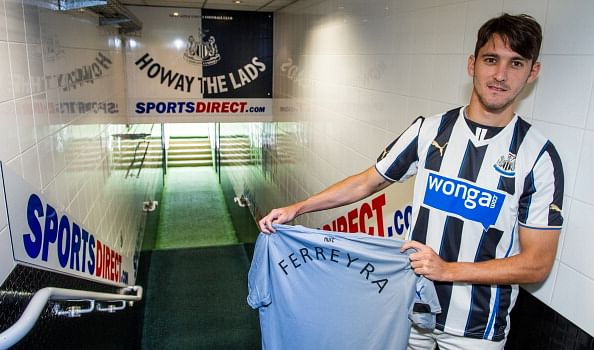 Newcastle seal seventh signing of the summer with loan deal for Argentine forward Facundo Ferreyra