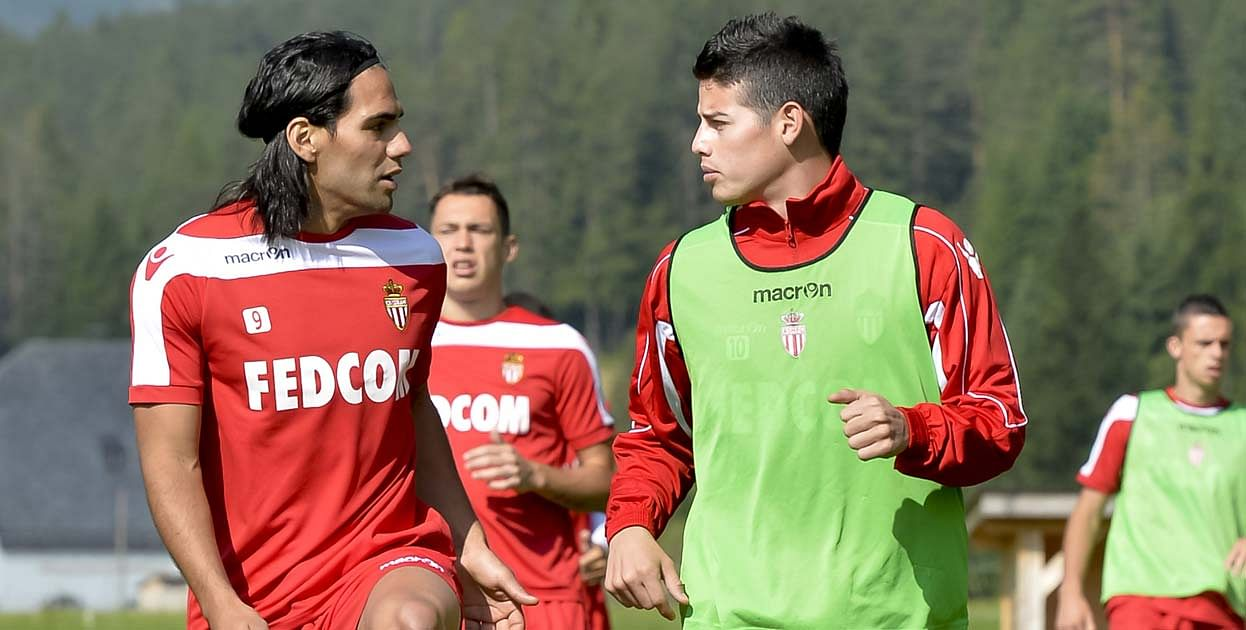 Reports: Real Madrid officials spotted in France making a late bid for Monaco's Radamel Falcao