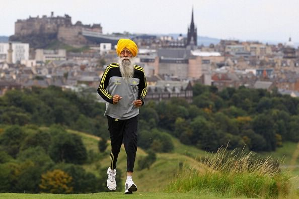 Fauja Singh urges people to join peace marathon in Britain
