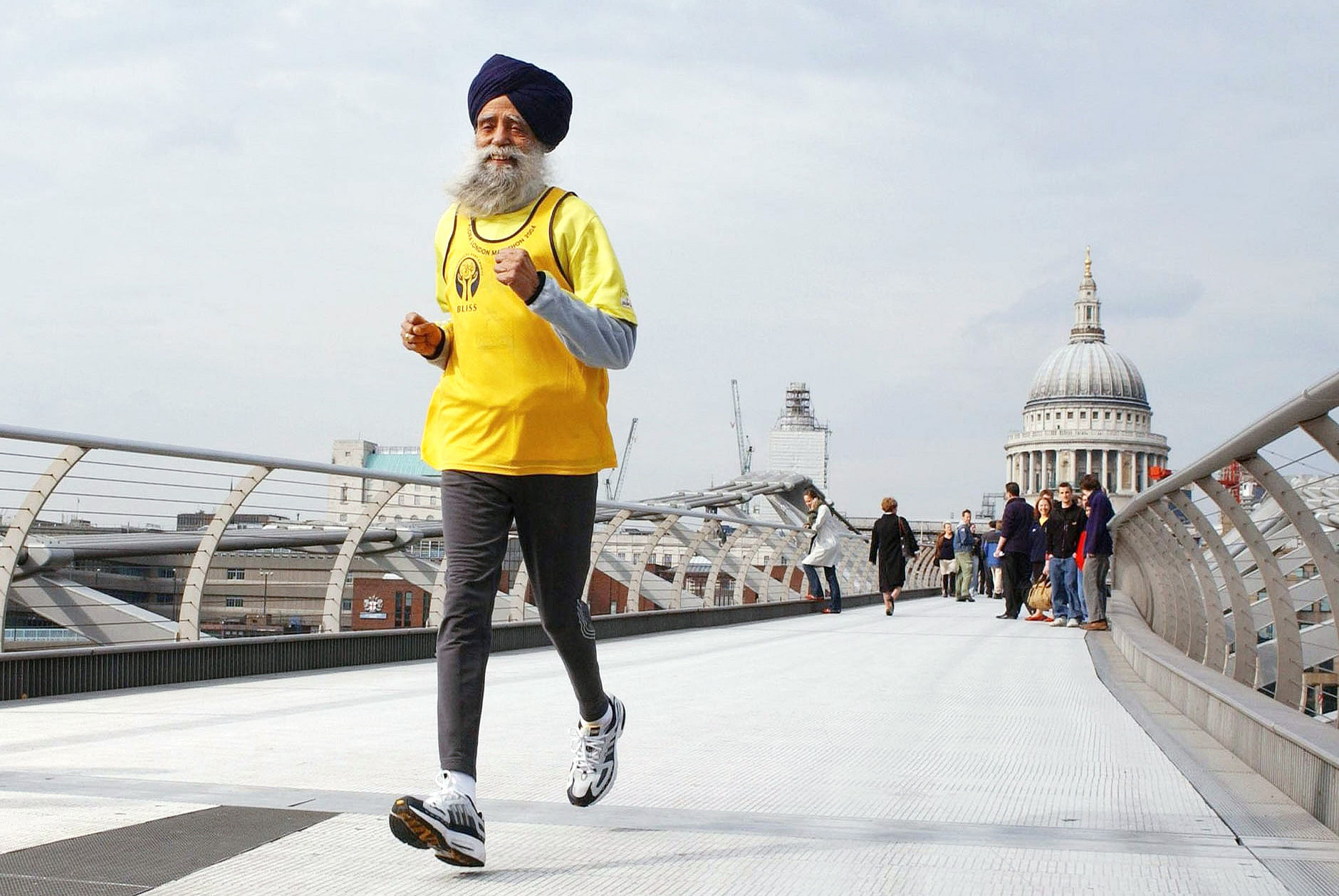 World's oldest runner Fauja Singh is an inspiration to youngsters everywhere