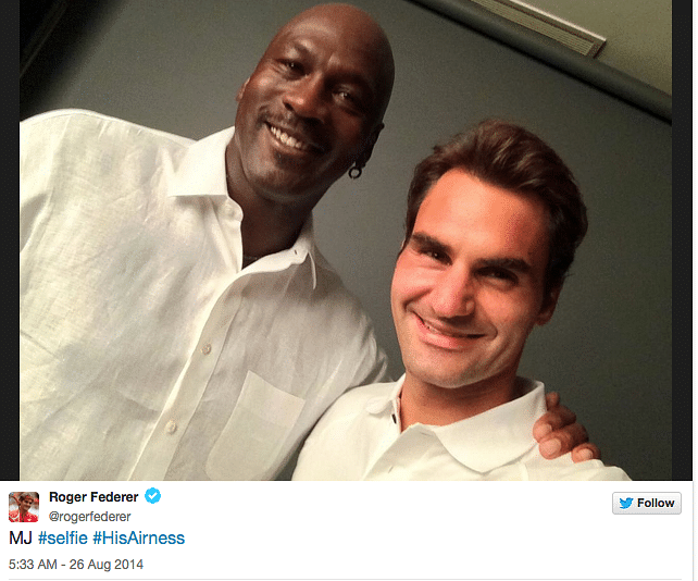 Roger Federer and Michael Jordan design special shoe for US Open